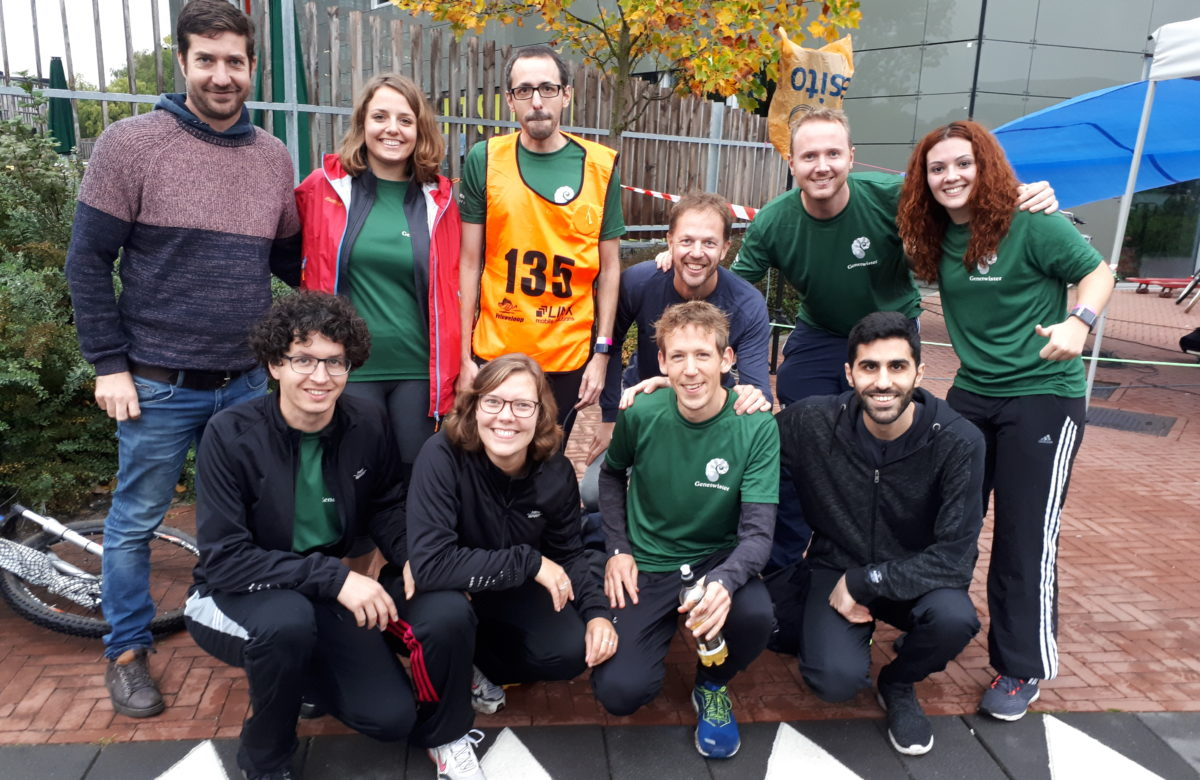 Genetwister Runners joined the Veluweloop 2019